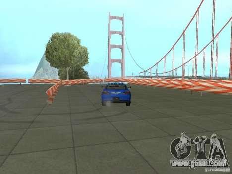 New Drift Track SF for GTA San Andreas sixth screenshot