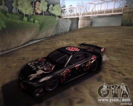 Nissan Silvia S15 with AKATSUKI paintjob for GTA San Andreas