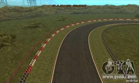 GOKART track Route 2 for GTA San Andreas twelth screenshot