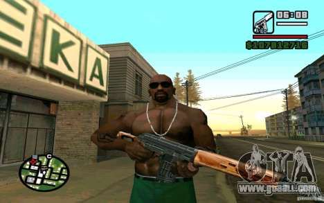 Dragunov sniper rifle v 2.0 for GTA San Andreas third screenshot