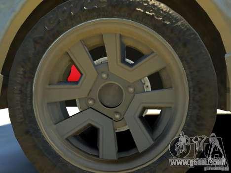Toyota Corolla AE86 EPM v3.0 for GTA 4 inner view