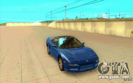 Honda NSX 1991 stock for GTA San Andreas