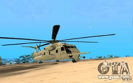 CH 53E for GTA San Andreas right view