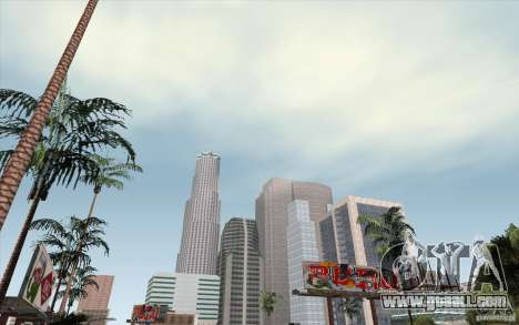 Timecyc Los Angeles for GTA San Andreas second screenshot