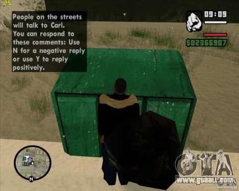 Make trash for GTA San Andreas sixth screenshot
