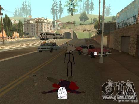 Meme Ivasion Mod for GTA San Andreas forth screenshot