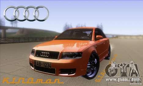 Audi S4 DIM for GTA San Andreas