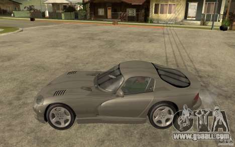 Dodge Viper GTS for GTA San Andreas left view