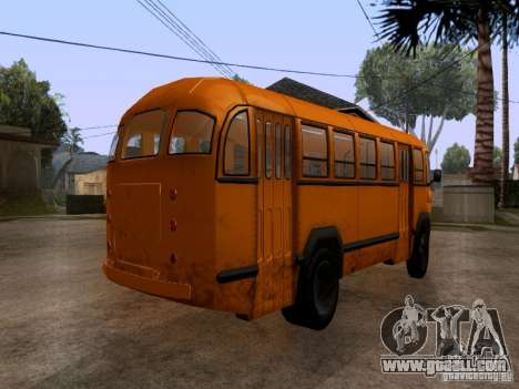 LIAZ 158 for GTA San Andreas left view