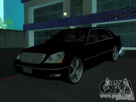 Lexus LS 430 for GTA San Andreas