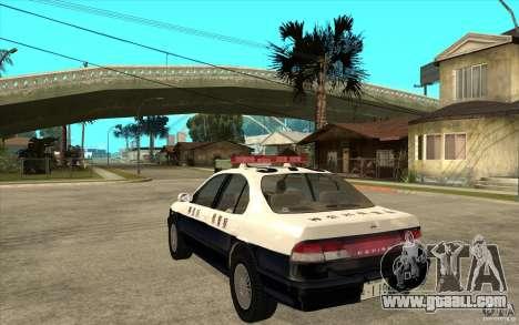 Nissan Cefiro A32 Kouki Japanese PoliceCar for GTA San Andreas inner view