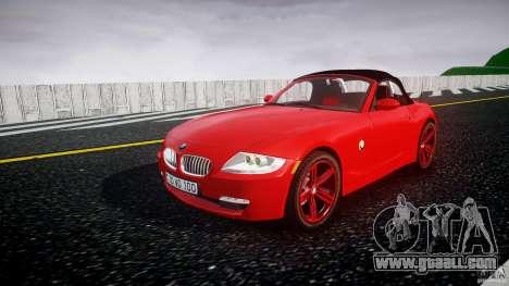 BMW Z4 Roadster 2007 i3.0 Final for GTA 4