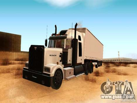 Western Star 4900 for GTA San Andreas