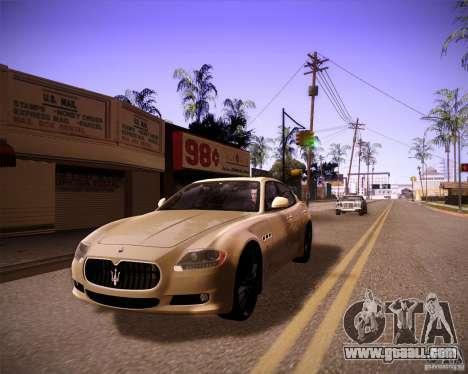 ENBseries by slavheg v2 for GTA San Andreas sixth screenshot