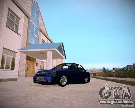Lada Priora Chelsea for GTA San Andreas