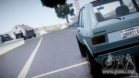Volkswagen Golf Mk1 for GTA 4 side view