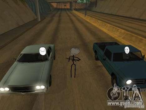 Meme Ivasion Mod for GTA San Andreas eleventh screenshot