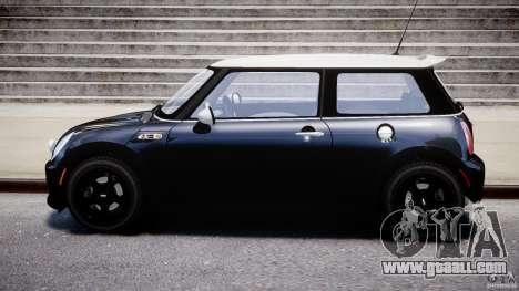 Mini Cooper S 2003 v1.2 for GTA 4 left view