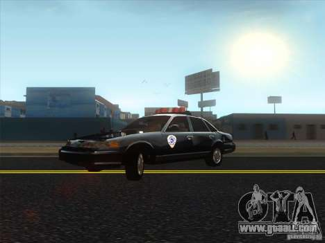 Ford Crown Victoria 1992 Detroit OCP for GTA San Andreas