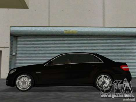 Mercedes-Benz E63 AMG for GTA Vice City back left view
