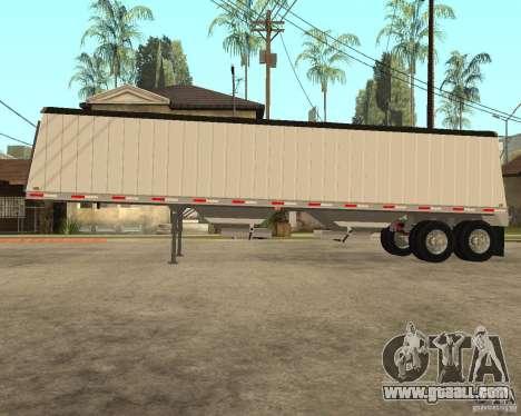 Semi Artict3 for GTA San Andreas left view