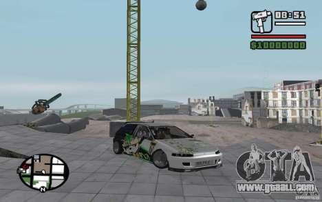Honda Sivic drift for GTA San Andreas