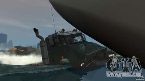 Biff boat for GTA 4 engine