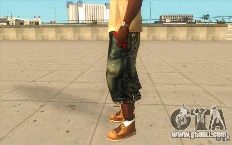 The BIG Makaveli Short Jeans for GTA San Andreas second screenshot