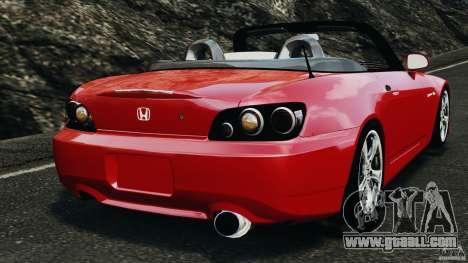 Honda S2000 v1.1 for GTA 4 back left view