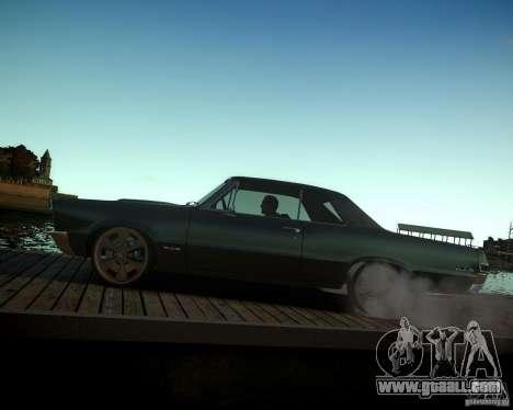 Pontiac GTO DF for GTA 4 upper view