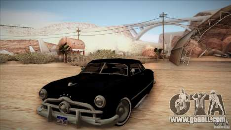 Ford Coupe Custom 1949 for GTA San Andreas