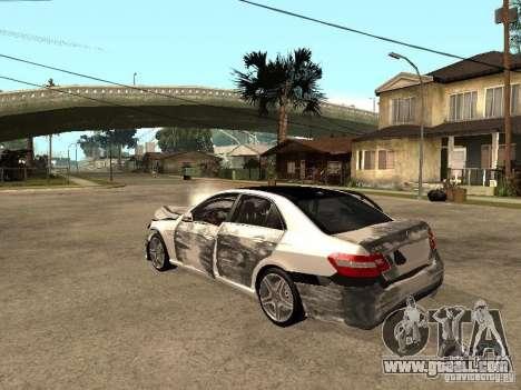 Mercedes-Bens e63 AMG for GTA San Andreas inner view