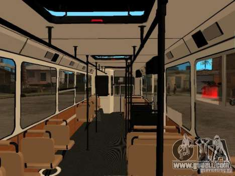 LIAZ 5256.00 for GTA San Andreas inner view