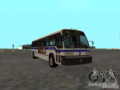 GMC RTS MTA New York City Bus for GTA San Andreas