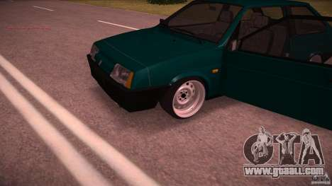VAZ 2108 Low Classic for GTA San Andreas back view