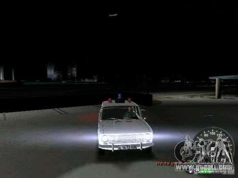 VAZ 2101 Police for GTA Vice City upper view