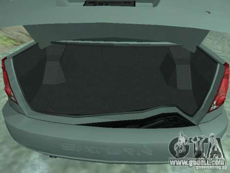 Saturn Ion Quad Coupe 2004 for GTA San Andreas back view