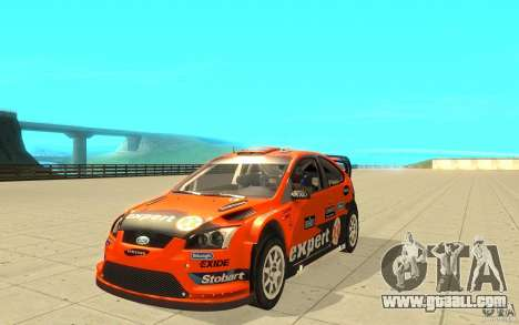 Ford Focus RS WRC 08 for GTA San Andreas
