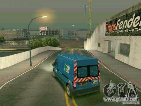 Renault Master for GTA San Andreas