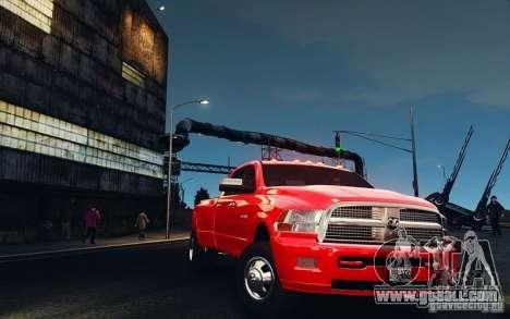 Dodge Ram 3500 Stock Final for GTA 4 inner view