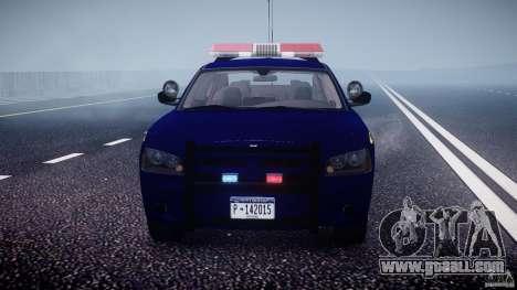 Dodge Charger New York State Trooper CHGR-V2.1M for GTA 4 interior