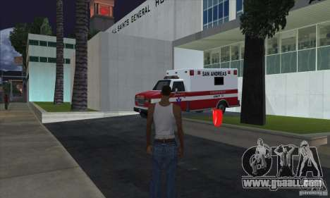 First Aid Kits for GTA San Andreas