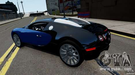 Bugatti Veyron 16.4 v1.0 wheel 2 for GTA 4 right view