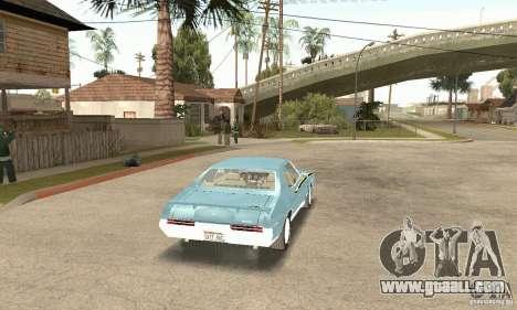 Pontiac GTO The Judge for GTA San Andreas left view