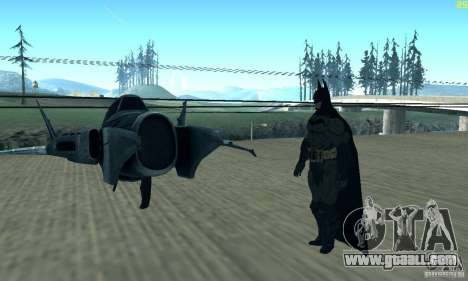 BatWing for GTA San Andreas back view