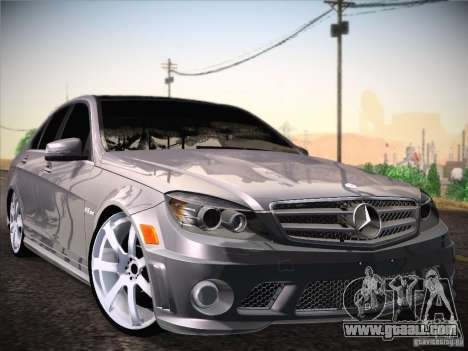 Mercedes-Benz S63 AMG for GTA San Andreas back left view