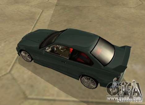 BMW E36 Coupe for GTA San Andreas left view