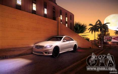 Mercedes Benz CL65 AMG for GTA San Andreas interior