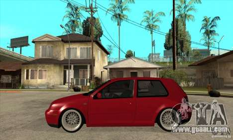 VW Golf 4 V6 Bolf for GTA San Andreas left view