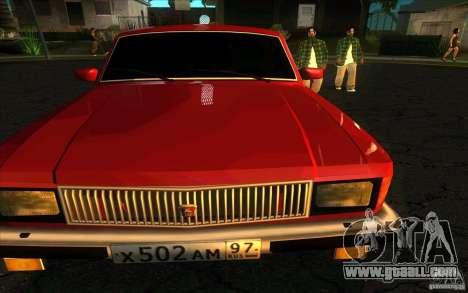 GAZ 3102 Volga Limousine for GTA San Andreas right view